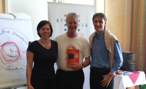 Franziska Moosbauer, Stephen Gilligan & Christian Mang (v.l.n.r.)